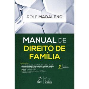 MANUAL DE DIREITO DE FAMILIA