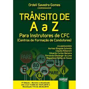 TRANSITO DE A A Z PARA INSTRUTORES DE CFC