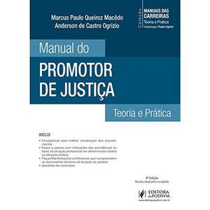 COLECAO MANUAIS DAS CARREIRAS - MANUAL DO PROMOTOR DE JUSTICA