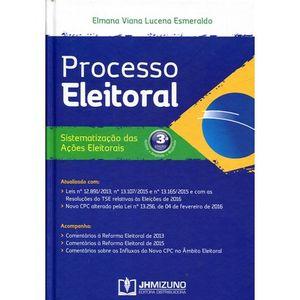 PROCESSO ELEITORAL - SISTEMATIZACAO DAS ACOES ELEITORAIS
