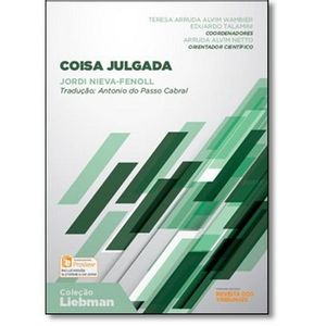 COLECAO LIEBMAN - COISA JULGADA