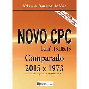 NOVO CPC - LEI Nº13.105/15 - COMPARADO