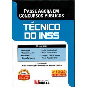 PASSE AGORA EM CONCURSOS COM A RIDEEL - TECNICO DO INSS