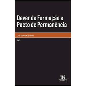 DEVER DE FORMACAO E PACTO DE PERMANENCIA