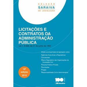 LICITACOES E CONTRATOS DA ADMINISTRACAO PUBLICA