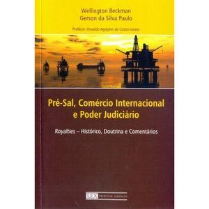 PRE-SAL, COMERCIO INTERNACIONAL E PODER JUDICIARIO