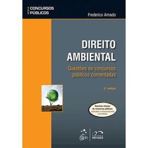 DIREITO AMBIENTAL - QUESTOES DE CONCURSOS PUBLICOS COMENTADAS - SERIE CONCURSOS PUBLICOS