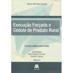 EXECUCAO FORCADA E CEDULA DE PRODUTO RURAL