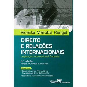 DIREITO E RELACOES INTERNACIONAIS