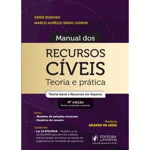 MANUAL DOS RECURSOS CIVEIS - TEORIA E PRATICA