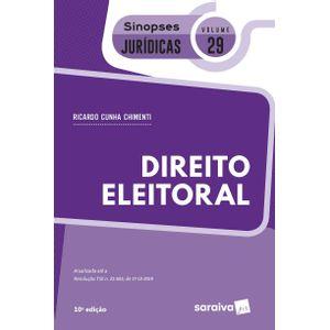 SINOPSES JURIDICAS V29 - DIREITO ELEITORAL