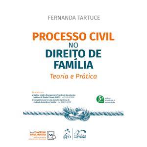 PROCESSO CIVIL NO DIREITO DE FAMILIA - TEORIA E PRATICA