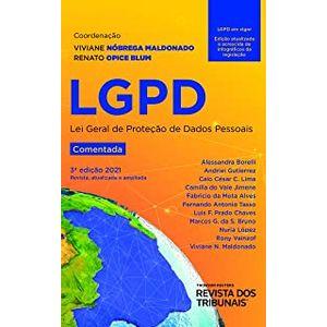 LGPD - LEI GERAL DE PROTECAO DE DADOS - COMENTADA