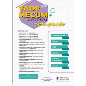 VADE MECUM COMPACTO JUSPODIVM 2021 - 1º SEMESTRE