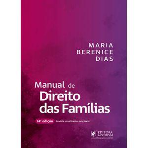 MANUAL DE DIREITO DAS FAMILIAS
