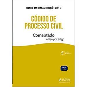 CODIGO DE PROCESSO CIVIL COMENTADO ARTIGO POR ARTIGO
