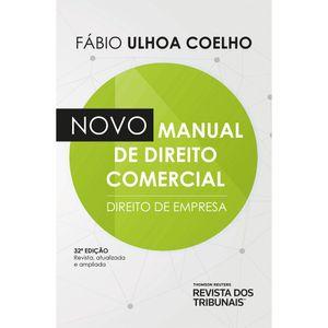 NOVO MANUAL DE DIREITO COMERCIAL