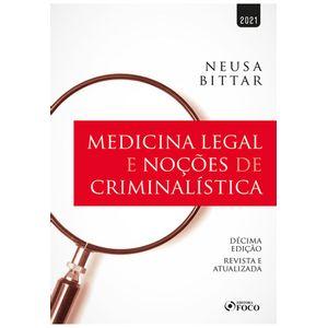 MEDICINA LEGAL E NOCOES CRIMINALISTICA