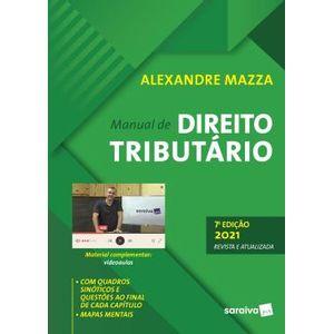 MANUAL DE DIREITO TRIBUTARIO