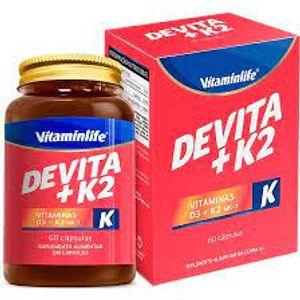 DEVITA+K2 VITAMINLIFE 60CAP