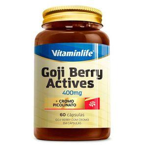 GOJI BERRY ACTIVES VITAMINLIFE 400MG 60CAP