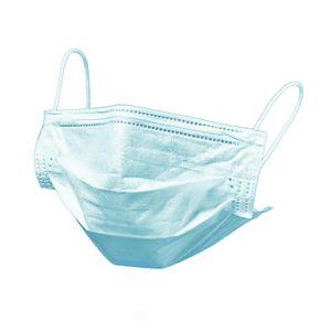 Máscara 3 Camadas Descartável Azul - Caixa com 50 - HC400