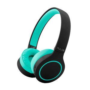 Headphone Bluetooth 5.0 Pulse Head Beats Verde Bateria 20h - PH340