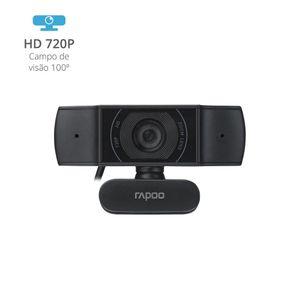 Webcam Rapoo 720p Foco Automático C200 - RA015