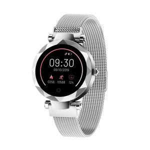 Relógio Smartwatch Paris Prata Android/iOS - ES384