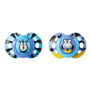 Chupeta Fun Style Tommee Tippee 2 Und 6-18M - Azul - TT005