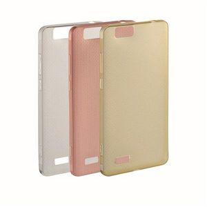 Kit de Capa Protetora para Smartphone Ms70(P9037) Silicone Dourado/Rose Multilaser - PR373