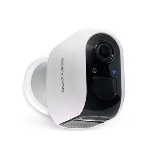 Câmera a Bateria Inteligente Full HD Wi-Fi - Multilaser Liv - SE227