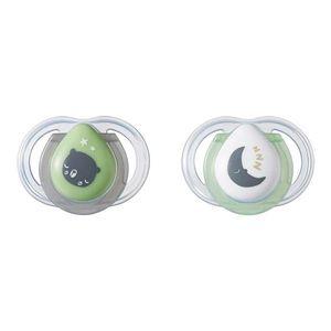 Chupeta Newborn Noite Tommee Tippee 2 Und 0-2 M Verde - TT007