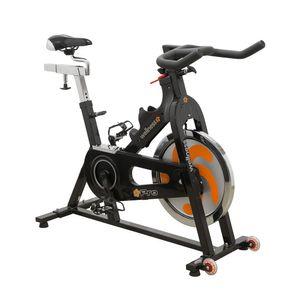 Bike Spinning PRO Wellness c/ Roda de Inércia 19KG Sist de  Freio Duplo-  GY005
