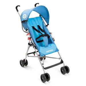 Carrinho De Bebê Guarda-Chuva Way Weego Azul - BB507