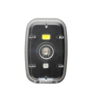 Farol Clip com Luz Dianteira 20L/ Traseiro 2L 200mAh USB - BI187
