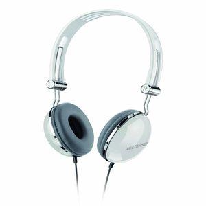 Fone De Ouvido Multilaser Headphone Vibe Design Retro P2 Branco - PH054