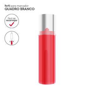 Refil p/ Marcador Quadro Branco 3,5ml Vermelho 12un - Keep - MR004
