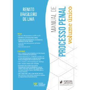 MANUAL DE PROCESSO PENAL - VOLUME UNICO