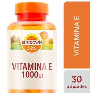 VITAMINA E 1.000UI SUNDOWN 30CAP