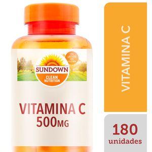 VITAMINA C 500MG SUNDOWN PURE 180CPR