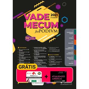 VADE MECUM JUSPODIVM 2021 - TRADICIONAL - 2º SEMESTRE