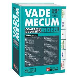 VADE MECUM COMPACTO DE DIREITO RIDEEL - 1º SEMESTRE 2020