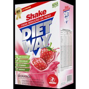 DIET WAY SHAKE MORANGO 420G